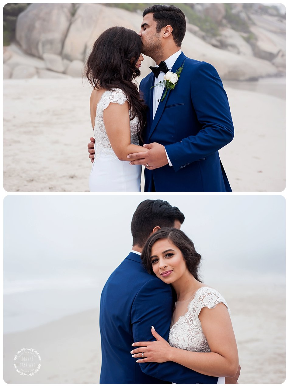 12 apostles hotel wedding photography on Llandudno beach