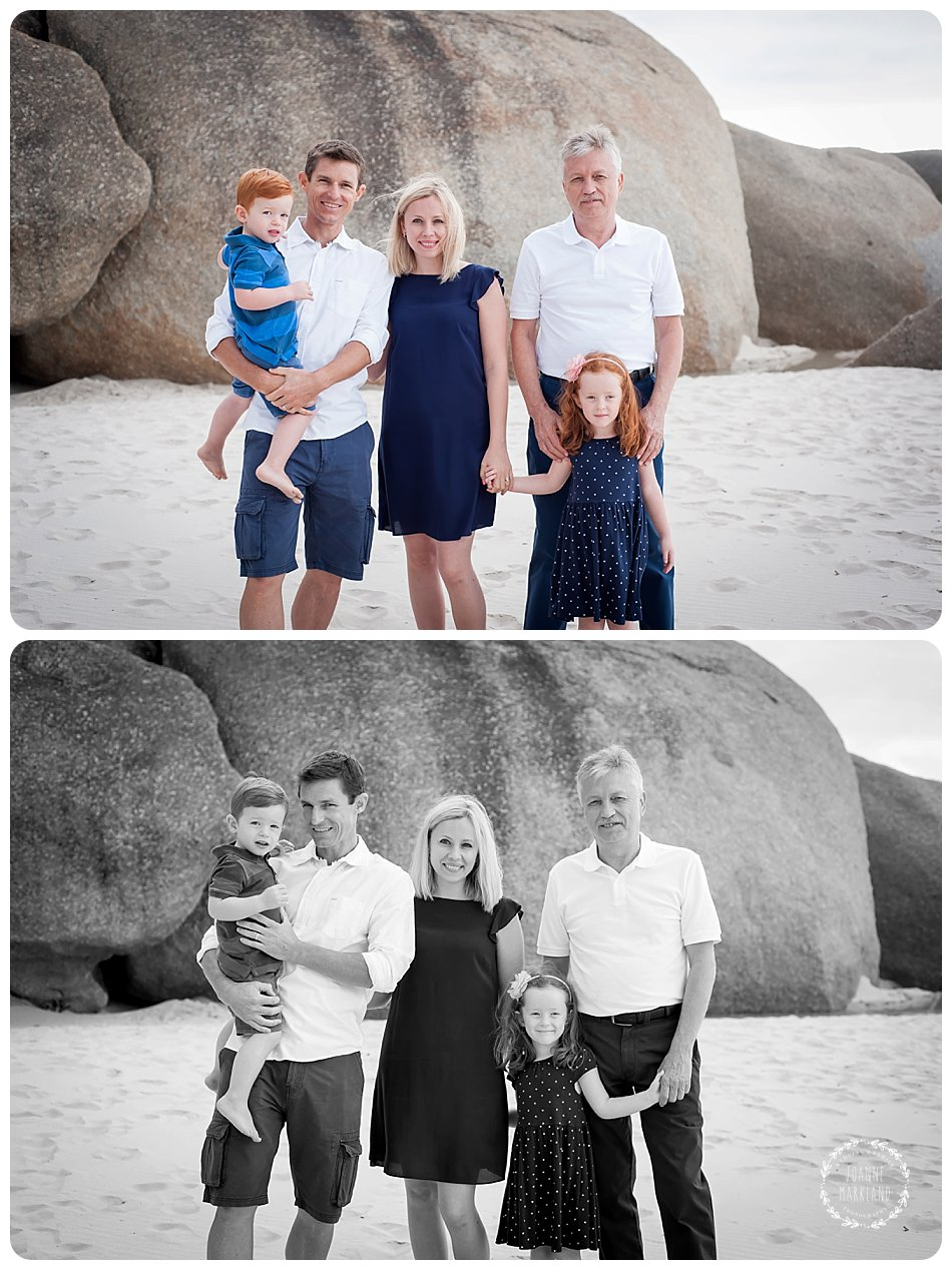 beach family photoshoot cape town