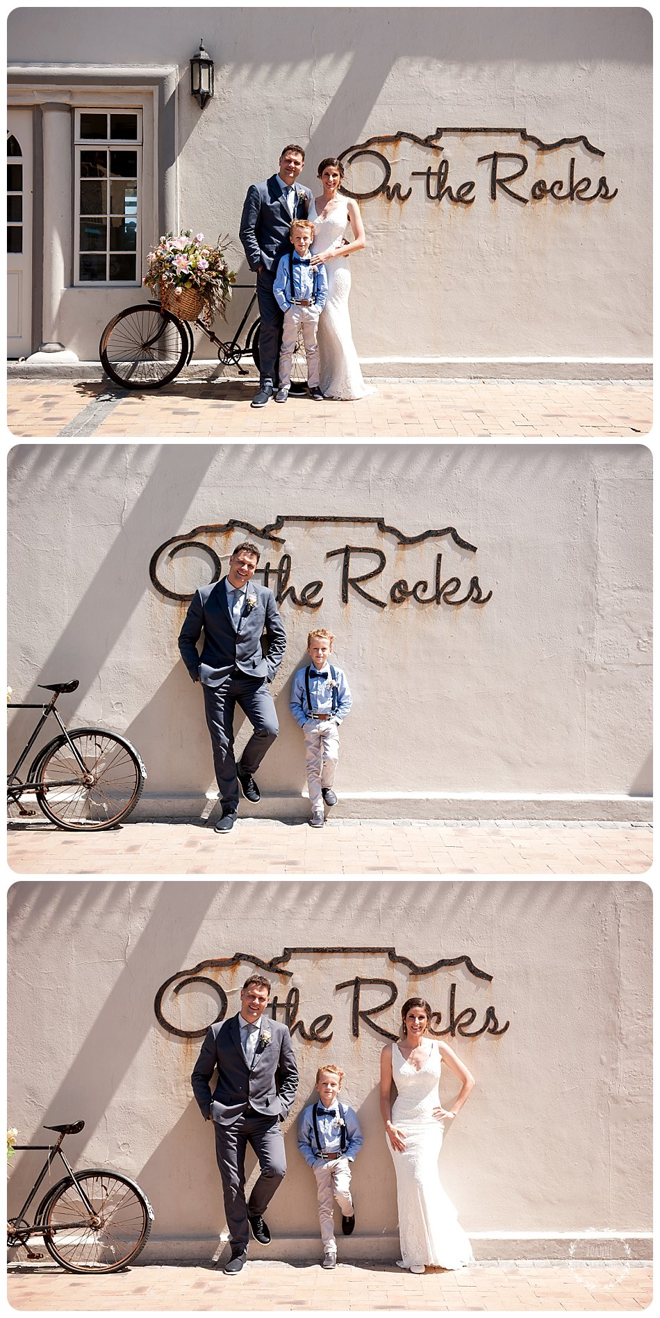 blouberg beach wedding photography at on the rocks