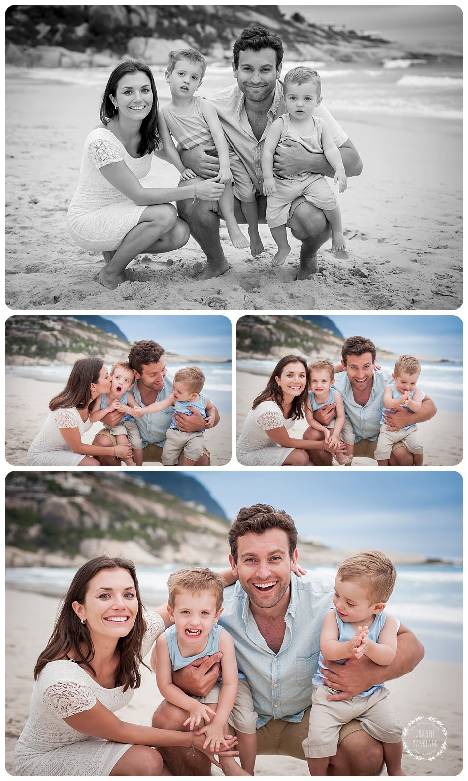 cape town beach photoshoot, cape town family photographer, family photographer cape town, joanne markland photography, family beach portraits, family, family portraits