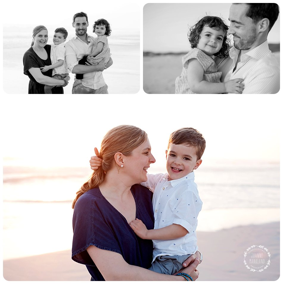 fun family photography on Bloubergstrand beach cape town