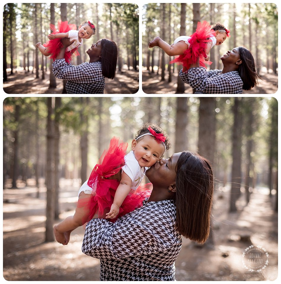 family photography at tokai forest cape town