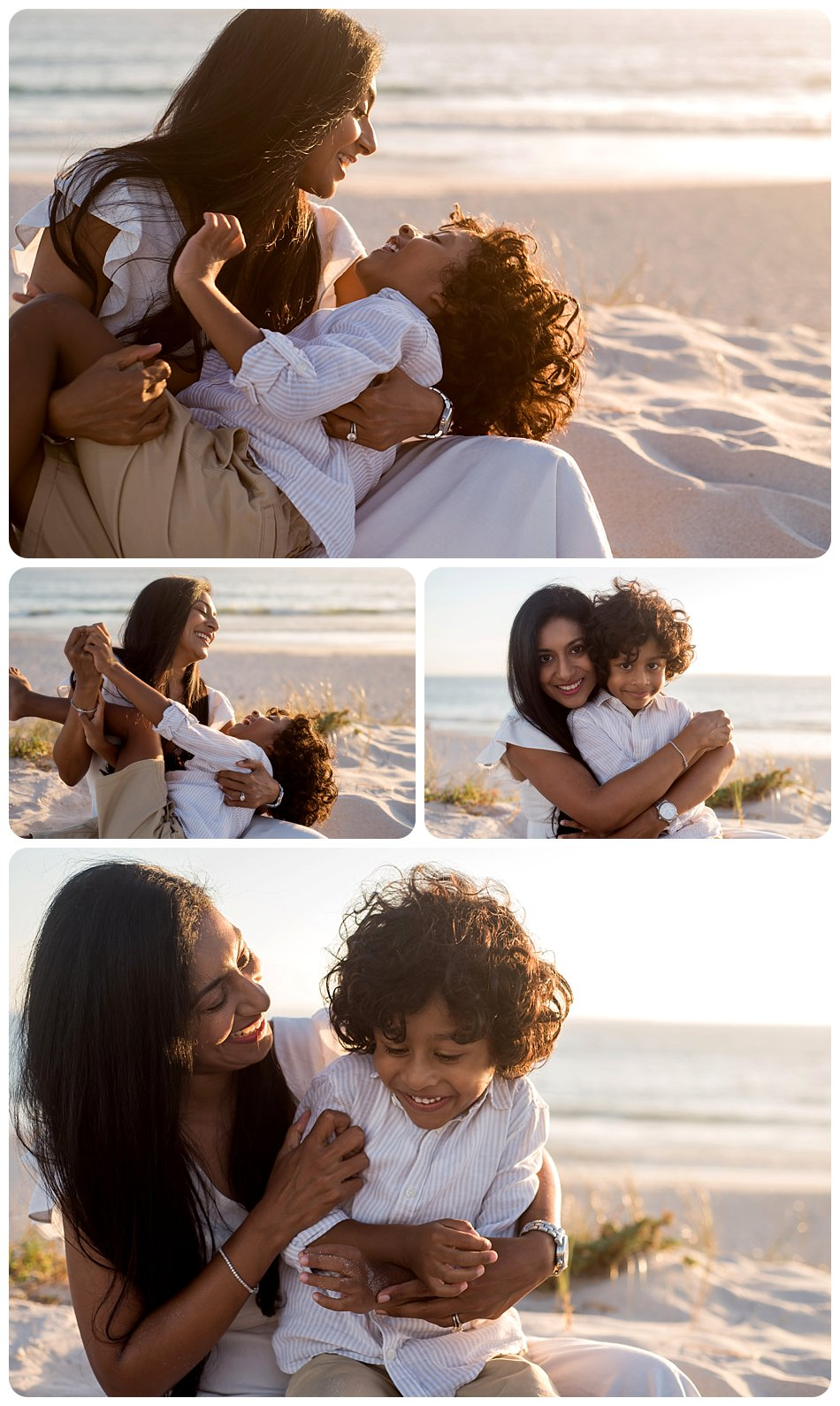 family photography on blouberg beach Cape Town