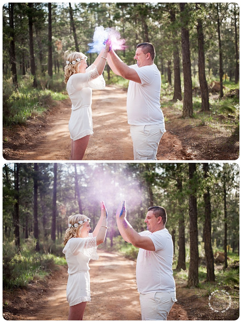 couple photo session, engagement photo session, powder paint couple session, cape town photographer, joanne markland photography, fun couple photo session, couple photoshoot