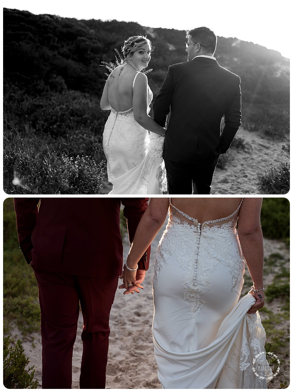 wedding photography on blouberg beach cape town joanne markland