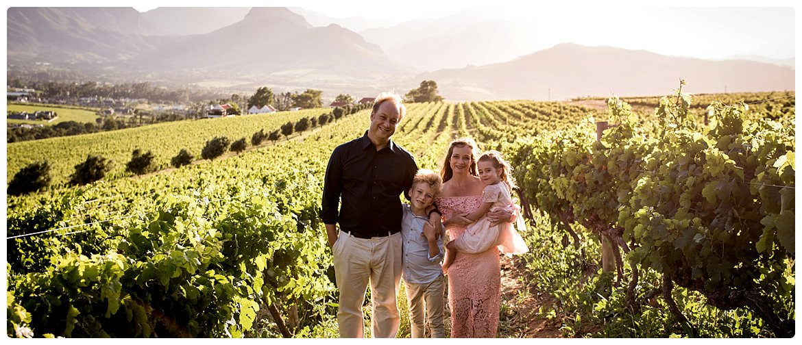 franschhoek family portraits photographer cape town chamonix