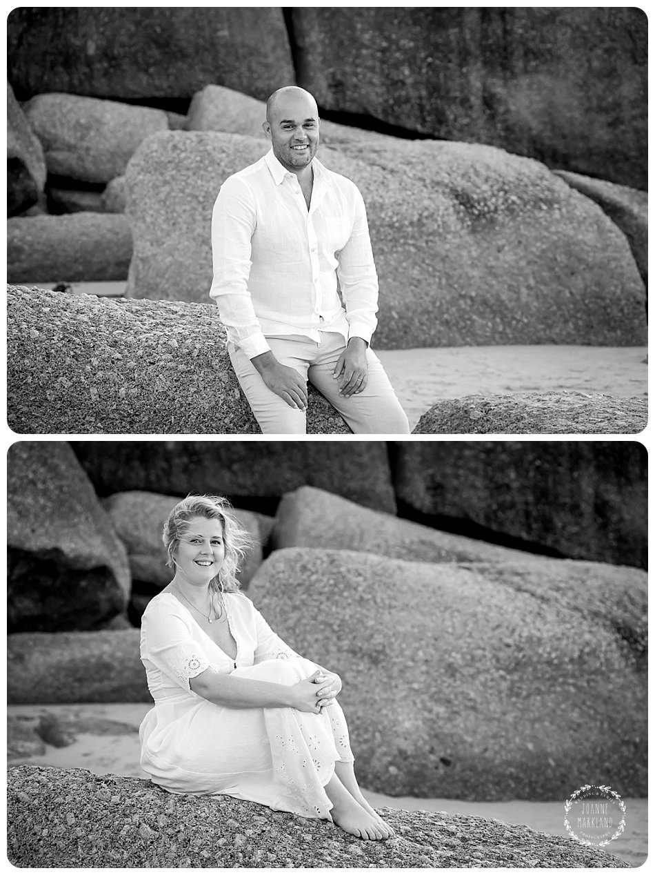 cape town elopement photographer on llandudno beach cape town