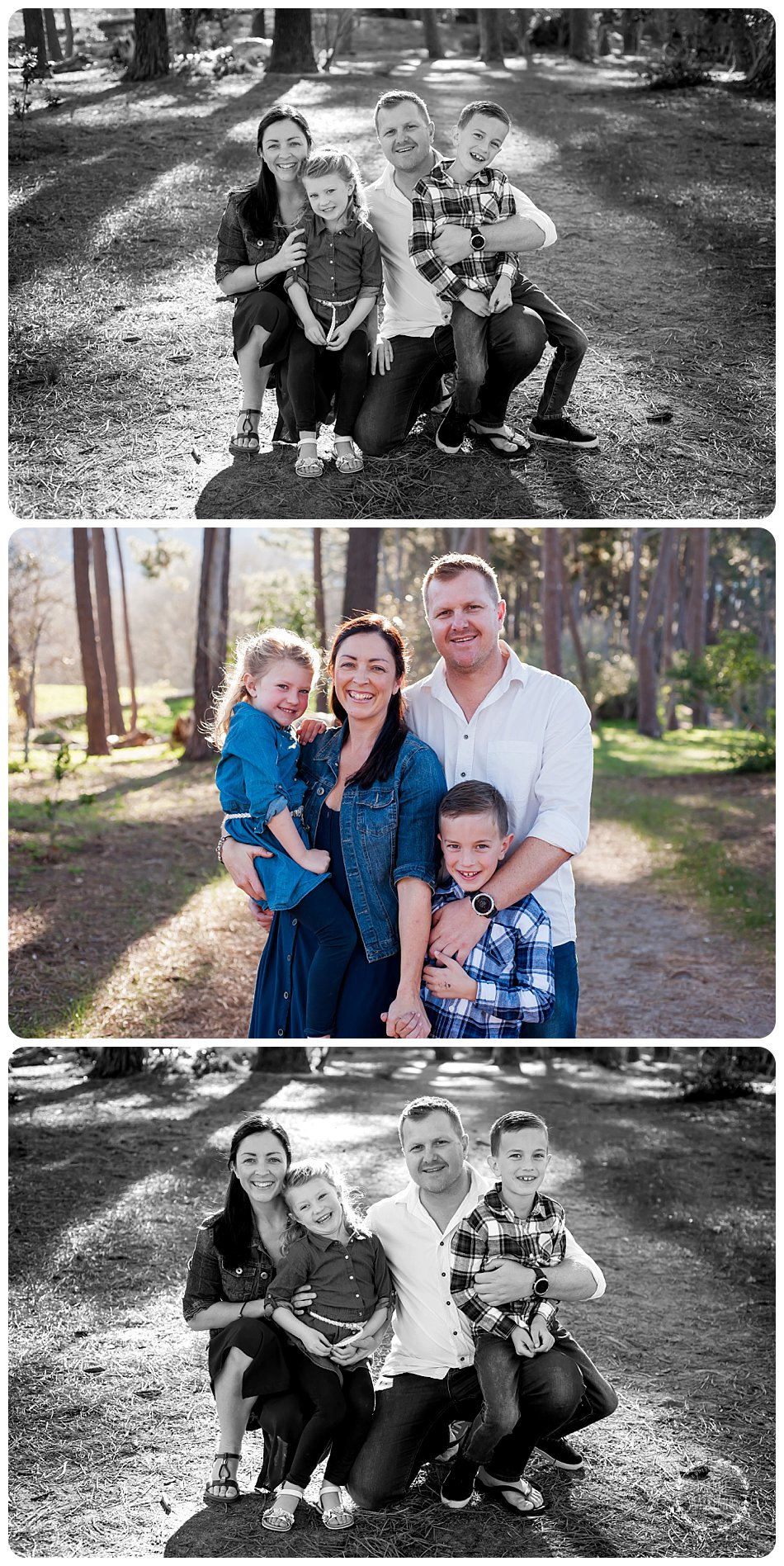 cape town fun family photography outdoor constantia forest lifestyle photo session
