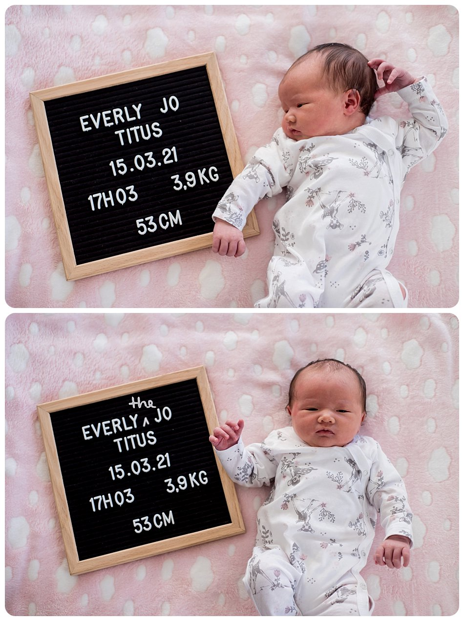 newborn photography in Worcester cape town