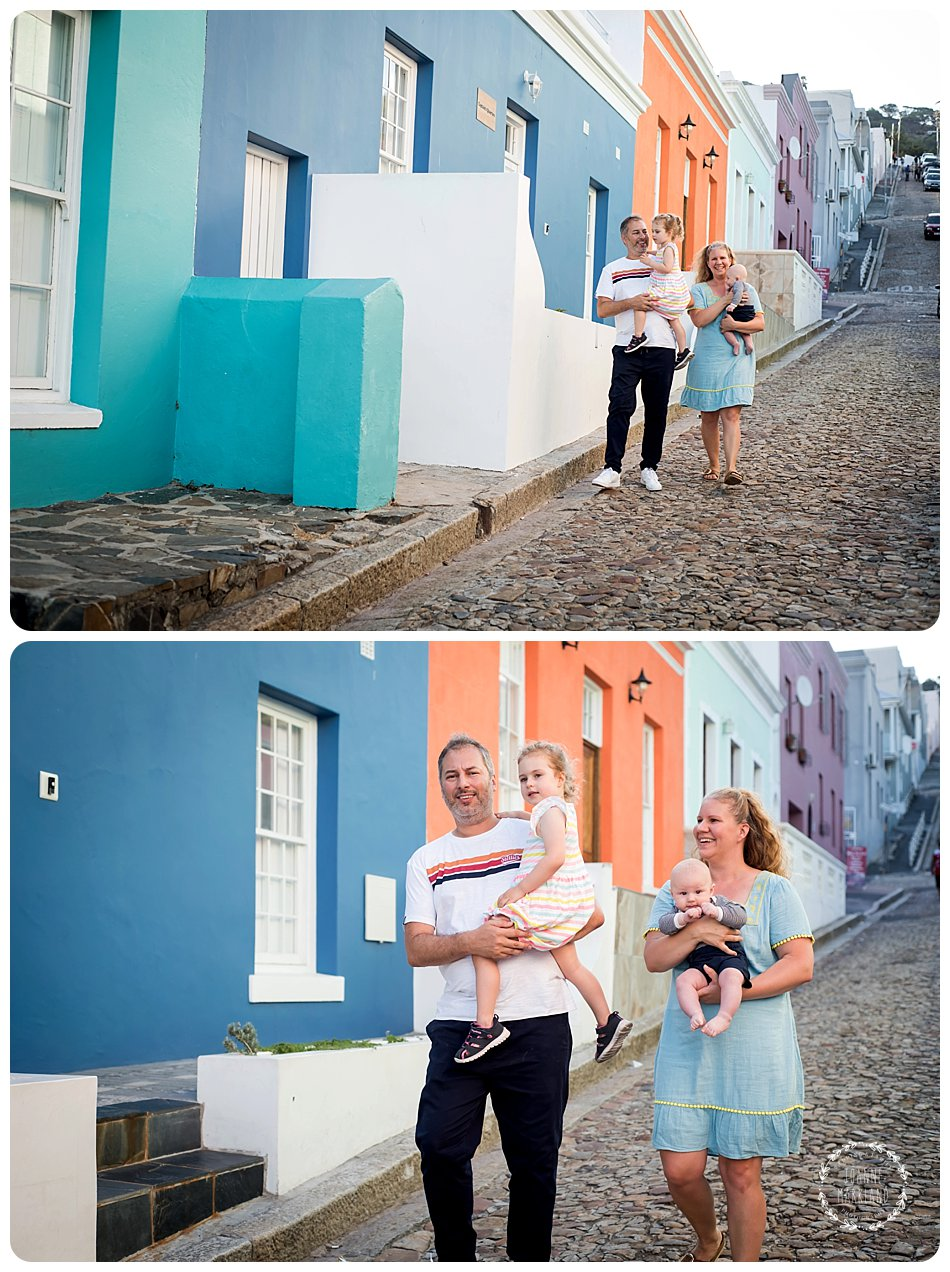 family photography on signal hill and table mountain in cape town