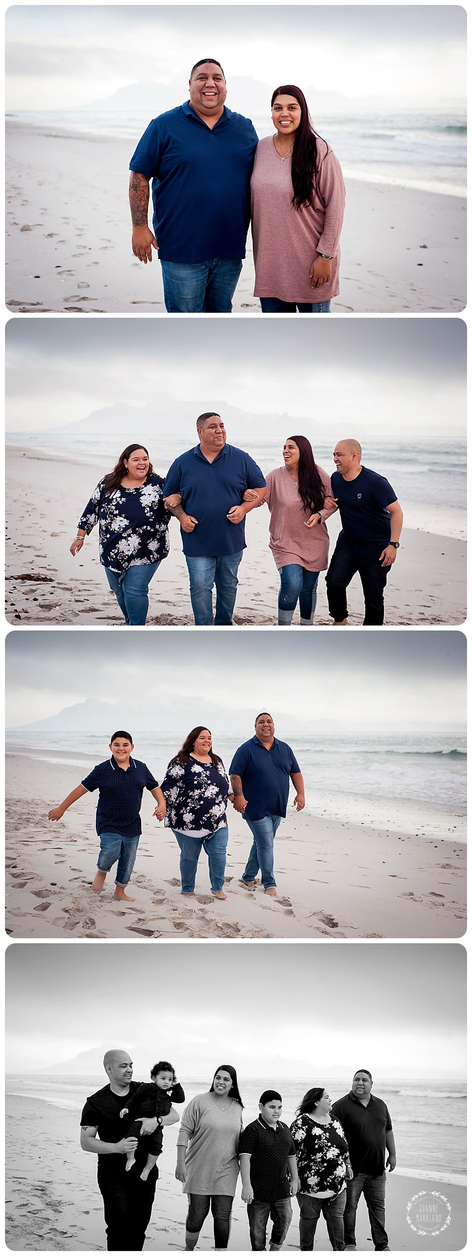 family portraits at blouberg beach table mountain photography